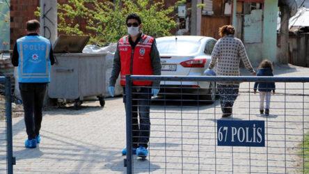 Zonguldak'ta 3 ev karantina altına alındı