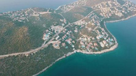 Kaş'ın Çukurbağ Yarımadası imara açıldı