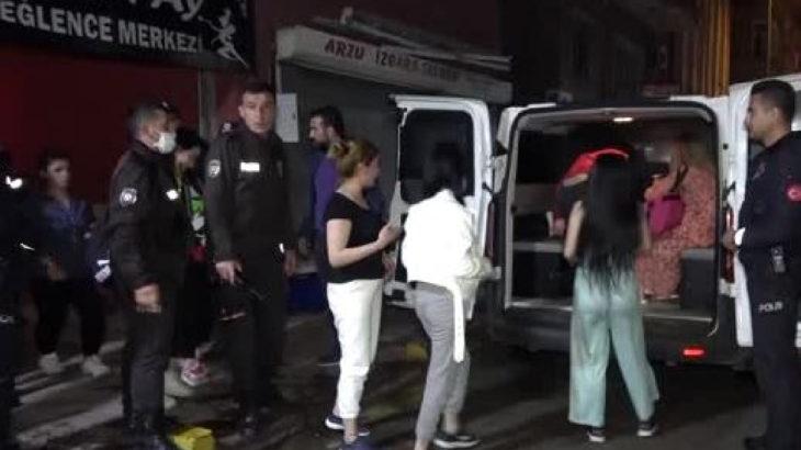Kırıkkale'de 'eğlence merkezi'ne korona baskını
