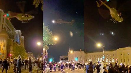 ABD'de protestocular üzerinde alçak uçuşa soruşturma açıldı