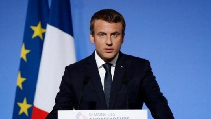 Macron: Türkiye tehlikeli bir oyun oynuyor