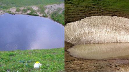12 bin yıllık Dipsiz Göl artık suni bir göl