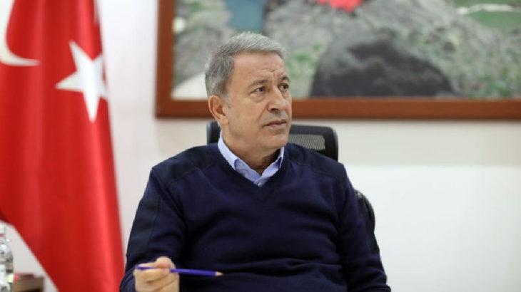 Milli Savunma Bakanı Akar'dan 'Fransız gemisine taciz' açıklaması