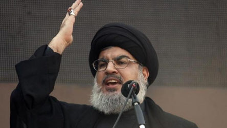 Nasrallah'tan 'Sezar Yasası' yorumu: Suriye'yi yalnız bırakmayacağız
