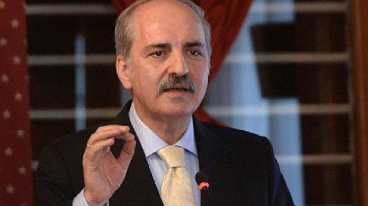 AKP'li Numan Kurtulmuş'tan 'yeni anayasa' açıklaması