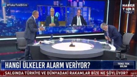 VİDEO | Habertürk TV'de ortalık karıştı: 'Halkı böyle kandırıyorsunuz', 'geri zekalılar'...