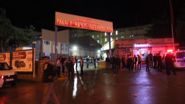 Erzurum'da hastaneye taşınan silahlı çatışma: Ölü ve yaralılar var