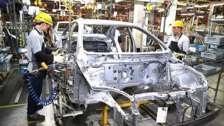 Otomotiv ana sanayiinde üretim yüzde 54 düştü