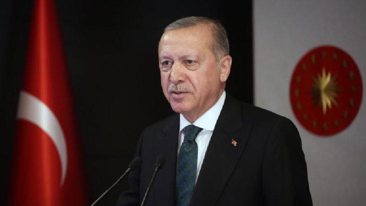 Sokağa çıkma yasağını kaldıran Erdoğan, yine telekonferansla açılış yaptı