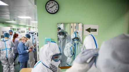 Rusya'da 8 bin 855 yeni vaka daha