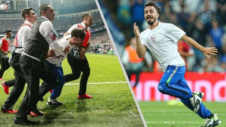 Beşiktaş maçında sahaya atlayan YouTuber'ın 3 yıl hapsi istendi