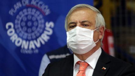 Şili'de Sağlık Bakanı görevden alındı