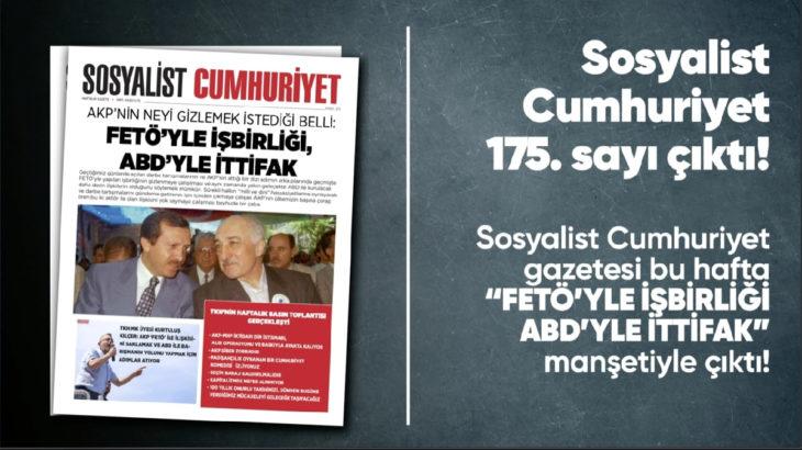 Sosyalist Cumhuriyet e-gazete 175. sayı