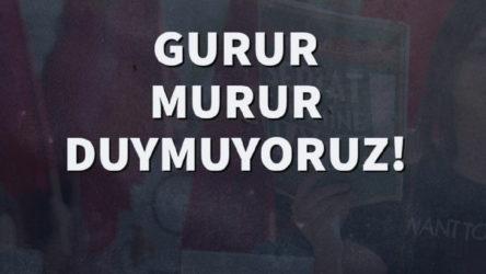 Sosyalist Liseliler'den Erdoğan'a: Gurur murur duymuyoruz!