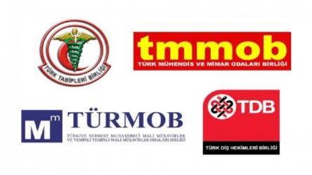 Meslek örgütlerinden TBMM'ye ortak çağrı