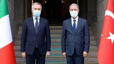 Türkiye ve İtalya Savunma Bakanlarından Libya görüşmesi