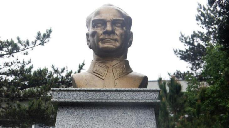 Atatürk büstlerini söküp hurdaya verenler gözaltında