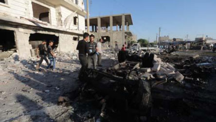 Azez'de bombalı saldırı: 5 ölü, 85 yaralı