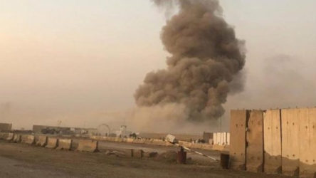 Bağdat'ta askeri üste peş peşe patlamalar