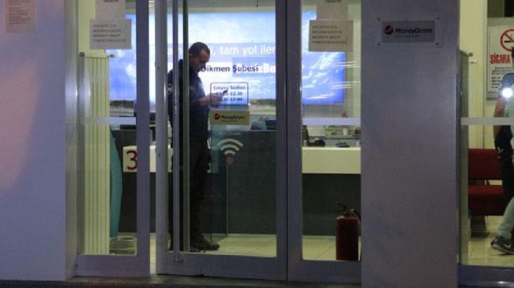 Ankara'da sabaha karşı banka soygunu: 1 dakika sürdü