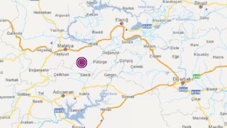 Malatya Battalgazi'de deprem
