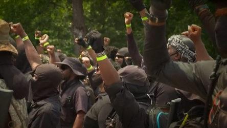 ABD'de 'Black Panther' isimli grup silahlanıp sokağa indi