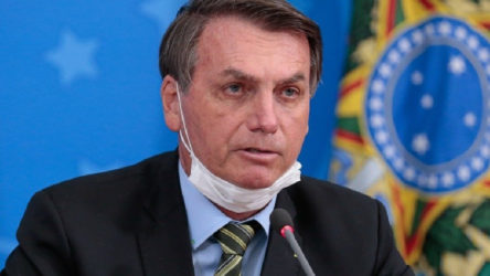 Bolsonaro'nun Kovid-19 testi tekrar pozitif çıktı