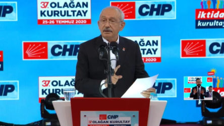 CHP Kurultayında 13 maddelik beyanname kabul edildi