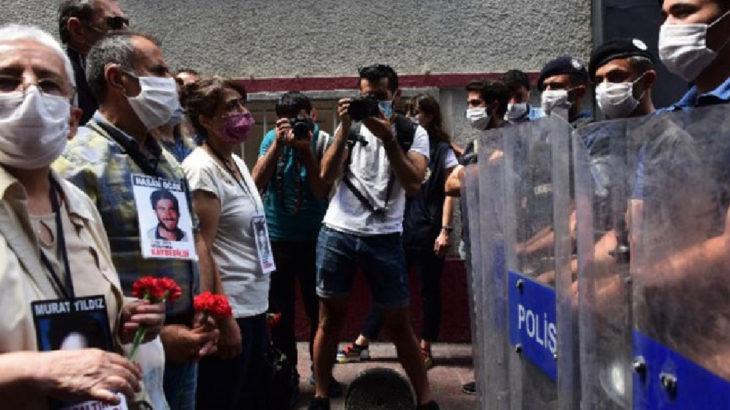 Cumartesi Anneleri'ne polis müdahalesi: Gözaltılar var