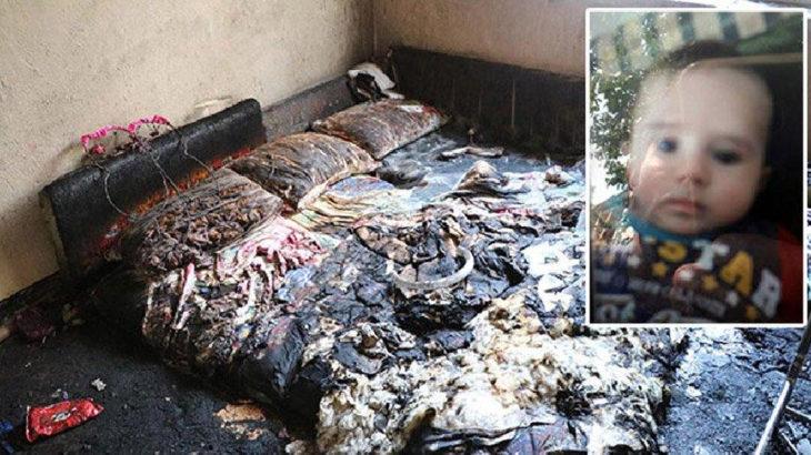 Denizli Baklan'da yangın: 5 aylık bebek hayatını kaybetti