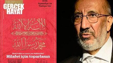 Ankara Barosu'ndan Dilipak ve hilafet çağrısı yapan dergi hakkında suç duyurusu
