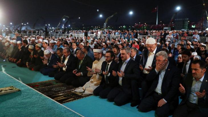 Ali Erbaş'ın bıraktığı yerden devam ediyorlar