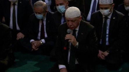 Erdoğan: Ayasofya'nın müzeye dönüştürülmesinin bir anlamı olmadığına inanıyoruz