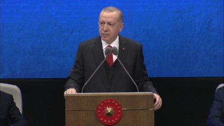 Erdoğan adaletin 'saray'lısıyla övündü