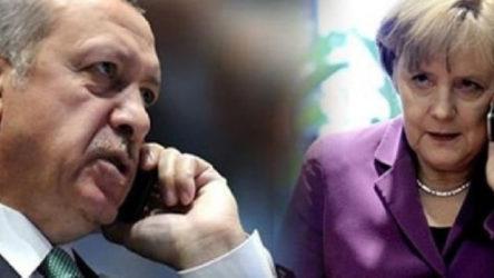 Erdoğan ile Merkel, Libya ve Suriye'yi görüştü