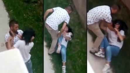 Erzurum'da hastane bahçesinde kadına şiddet: Şahıs serbest bırakıldı