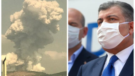 Fahrettin Koca'dan 'zehirli gaz' uyarısı