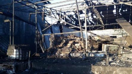Salyangoz işleme fabrikasında patlama: 1 işçi hayatını kaybetti