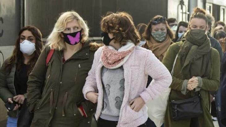 Fransa'da kapalı alanlarda maske takmak zorunlu oldu