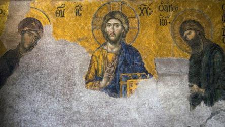 Ayasofya'daki fresklere lazerli 'çözüm'