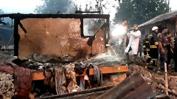 Bolu'da facia: 2 çocuk yanarak öldü