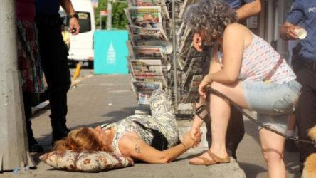Beyoğlu İlçe Emniyet Müdürlüğü önünde bir kadın vuruldu