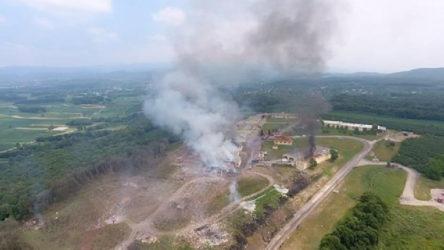 Fabrikadaki patlamada can kaybı 6'ya yükseldi