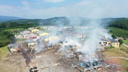 7 işçinin yaşamını yitirdiği havai fişek fabrikasındaki patlama davasında üçüncü duruşma başladı