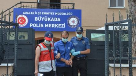 Heybeliada yangınıyla ilgili bir kişi tutuklandı