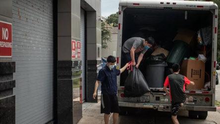 Çinli diplomatlar başkonsolosluk binasını boşalttı