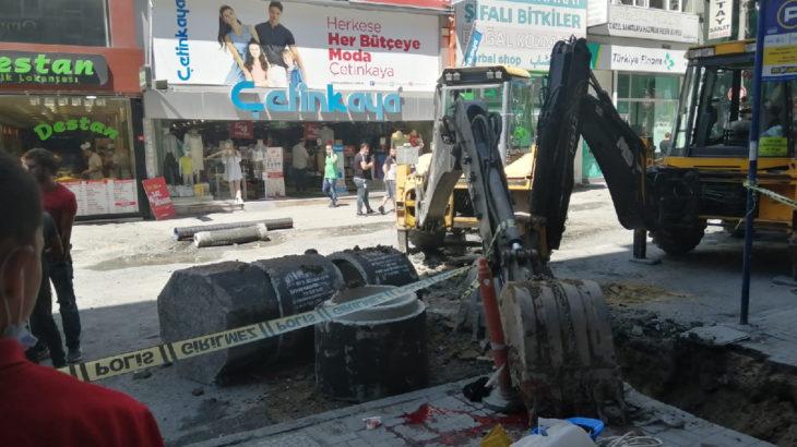 Bakırköy'de kopan kepçe işçinin üzerine düştü, İBB işçisi hayatını kaybetti