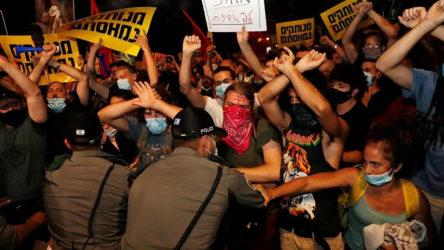 Kudüs ve Tel Aviv'de Netanyahu karşıtı gösteriler düzenlendi