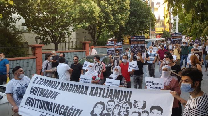 İstanbul İkitelli'de Sivas'ta katledilenler anıldı