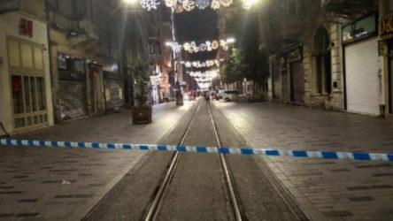 İstiklal Caddesi şüpheli paket nedeniyle kapatıldı